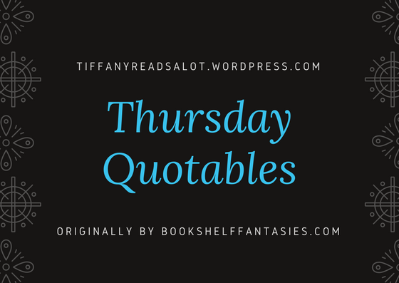 Thursday Quotables