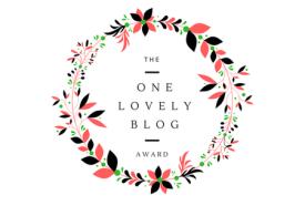 The One Lovely Blog Award
