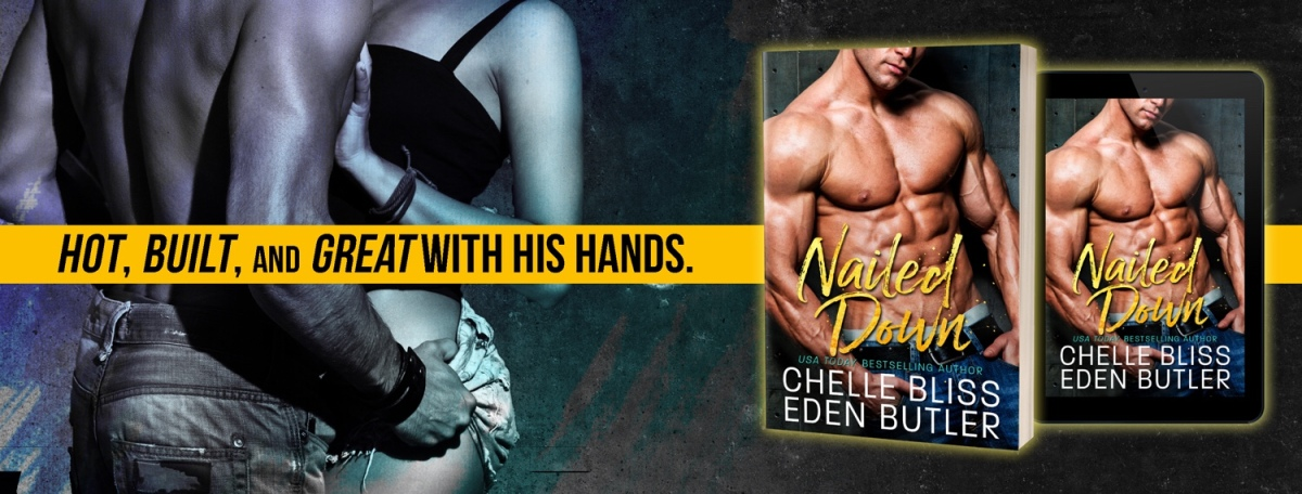 Cover Reveal: Nailed Down by Chelle Bliss