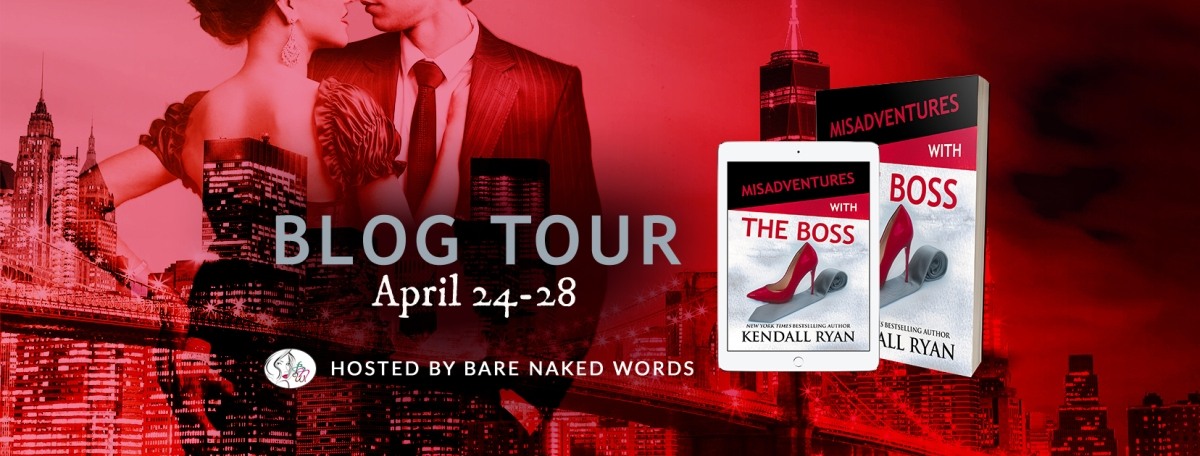Blog Tour: Misadventures with the Boss (Misadventures #12) by Kendall Ryan