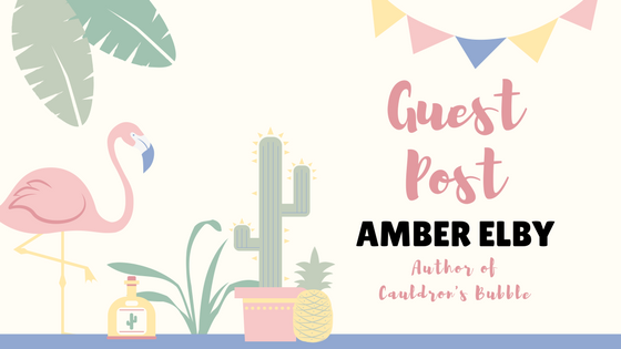 Guest Post: A Journey from Teaching to Writing by Amber Elby