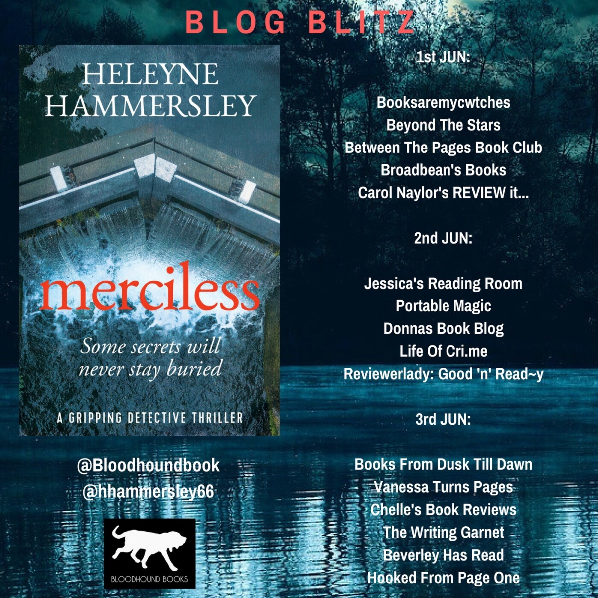 Blog Blitz + Guest Post: Merciless by Heleyne Hammersley