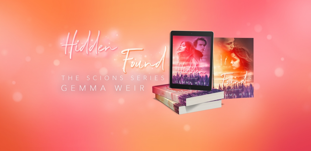 Cover Reveal: Hidden and Found (The Scions #1&2) by Gemma Weir