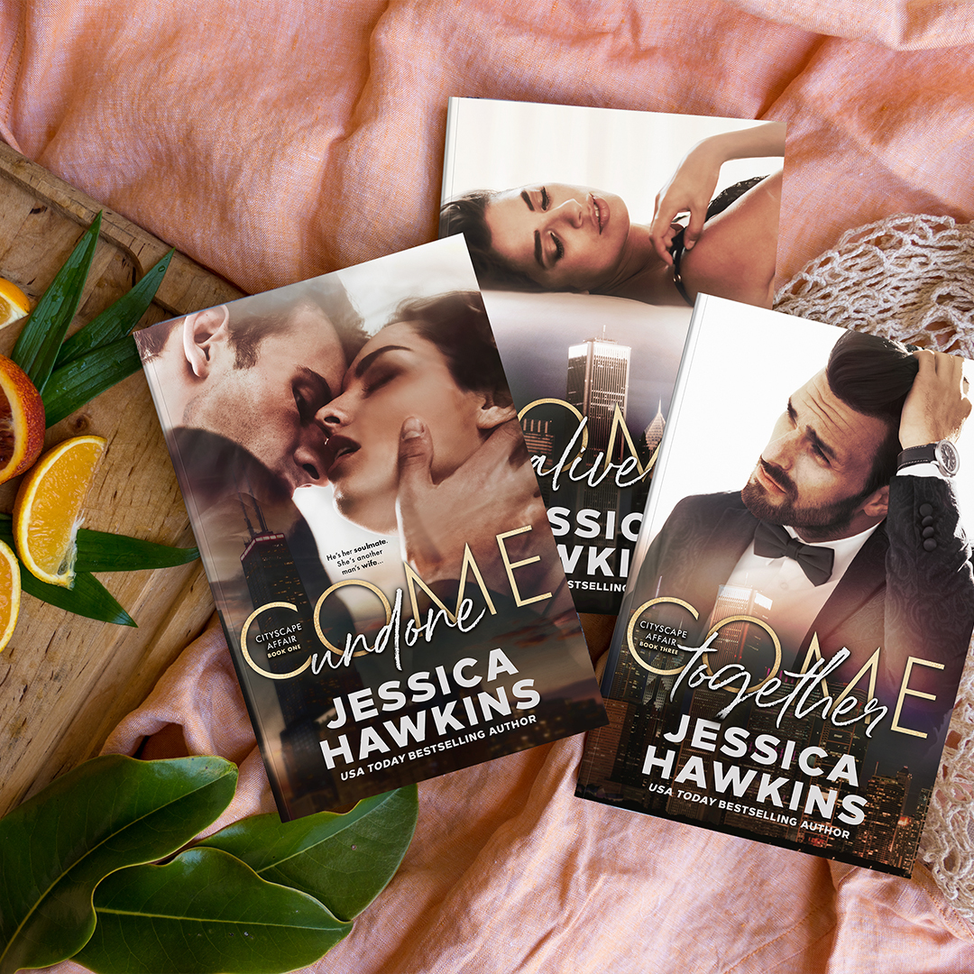 Cover Reveal: The Cityscape Affair series boxset by Jessica Hawkins!