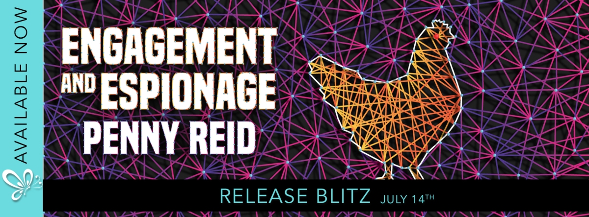 RELEASE BLITZ: Engagement and Espionage by Penny Reid
